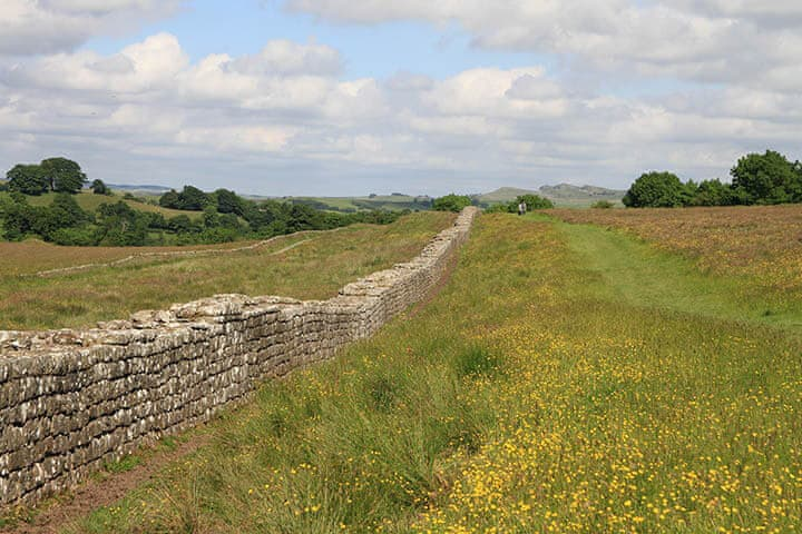 Walk along Hadrian's Wall